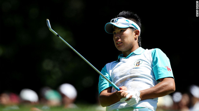 Japanese amateur aims for second consecutive Augusta win