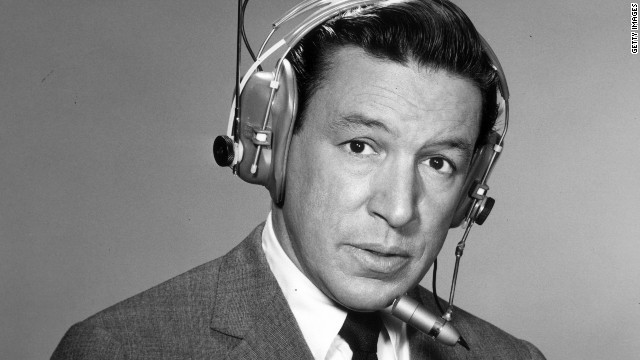 A 1964 promotional portrait shows Wallace wearing a wireless microphone. He anchored &quot;CBS Morning News With Mike Wallace&quot; and covered most of the major news stories of the 1960s, including several assignments to Vietnam, according to the &quot;60 Minutes&quot; website.