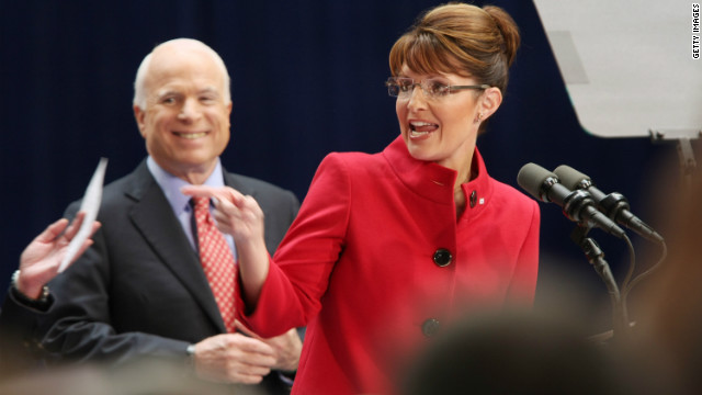 Palin has McCain's back