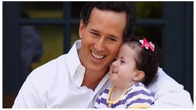 Santorum hace una pausa en su campaña por la hospitalización de su hija