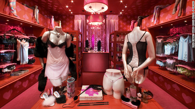 The Hard Rock Hotel & Casino in Las Vegas offers visitors in need of lingerie or unmentionables a room-service menu from their in-house boutique Love Jones.