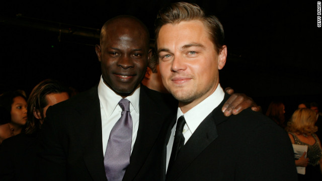 Appearing alongside Leonardo DiCaprio in &quot;Blood Diamond,&quot; Hounsou won rave reviews for his portrayal of a fisherman forced to work in a diamond mine after being captured by rebels.