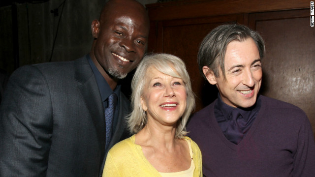 Djimon Hounsou, Helen Mirren and Alan Cumming attend a party for the premiere of the 2010 film &quot;The Tempest&quot; on December 6, 2010 in Los Angeles.
