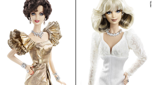 In honor of the 30th anniversary of &quot;Dynasty,&quot; Mattel released Alexis (Joan Collins) and Krystle (Linda Evans) Barbies. Drama sold separately.
