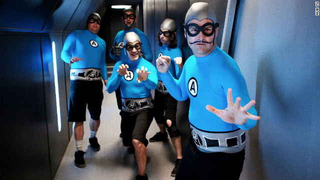 The Aquabats: Superheroes who rock Saturday mornings