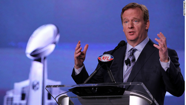 NFL Commissioner Roger Goodell will review the suspensions of four players disciplined for involvement in the New Orleans Saints