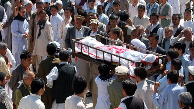 Al menos 18 muertos en ataques suicidas en Afganistán