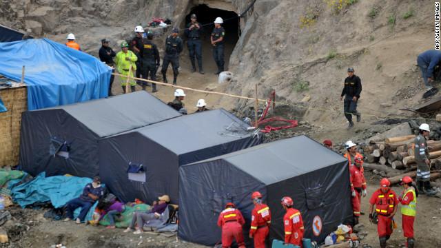 Los 9 mineros atrapados en Perú están a tres metros de la salvación