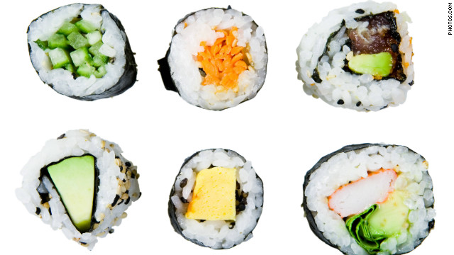 Box lunch: Sushi robots and coffee texters