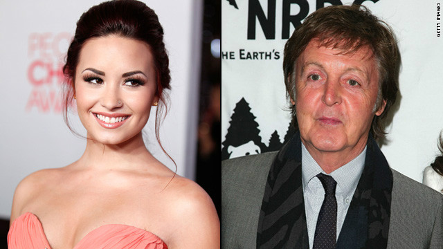Demi Lovato: I almost ran over Paul McCartney
