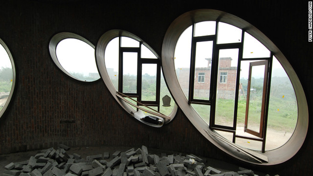 The ovuloid windows are a motif throughout the Yangjiang Group complex.