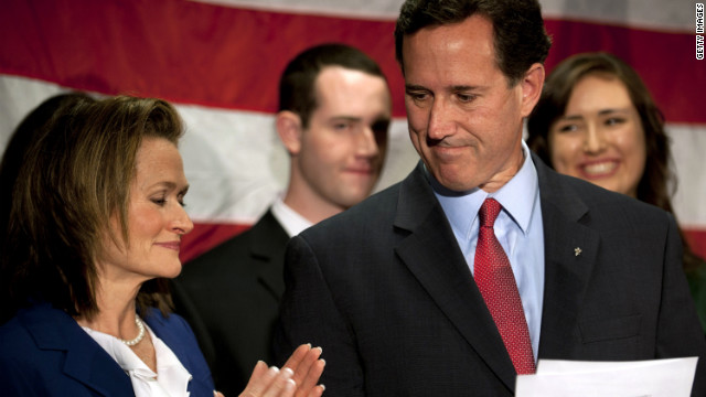 Rick Santorum on April 10 announced he was suspending his presidential campaign.