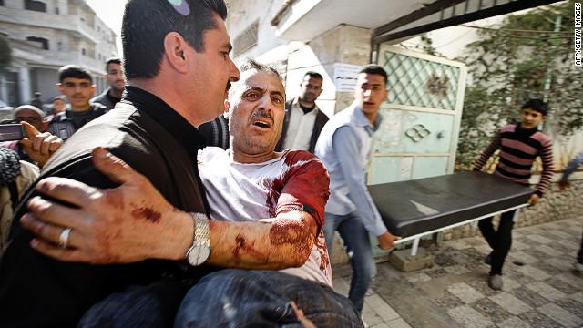 Los bombardeos minan las esperanzas de paz en Siria