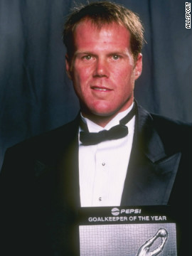 Friedel was named Major League Soccer's goalkeeper of the year during his only full season with the Columbus Crew in 1997.