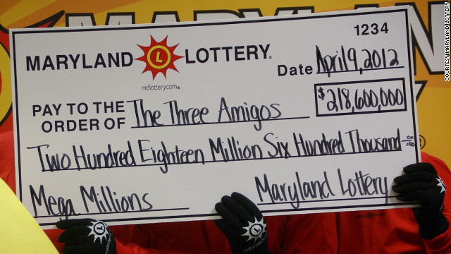Teachers, administrator claim Mega Millions prize, Maryland officials say