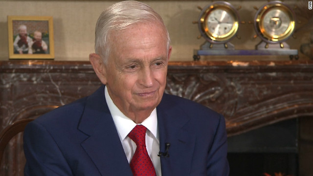 "Bill Marriott is now 80 years old. He recently stepped down as CEO to take up the position of executive chairman. <br/><br/>But he will still have a say in how the Marriott empire is run. ""I don't play golf, I don't have a yacht. I work and I visit hotels ... it's in my DNA,"" he said."