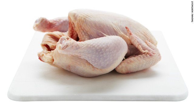 In 2013, Foster Farms chicken infected 634 people in 29 states with a multidrug-resistant strain of Salmonella, according to the CDC. Of the 634 cases, 38% involved hospitalization.
