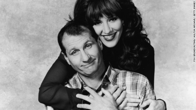 Ed O'Neill and Katey Sagal shown here in a promotional poster for 