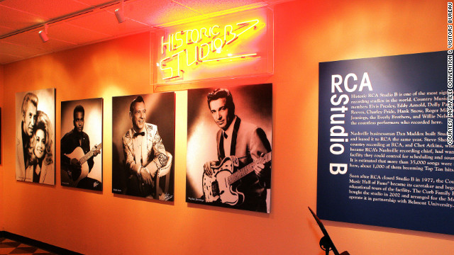 Visitors to the Country Music Hall of Fame may want to package their admission with a tour of historic RCA Studio B.
