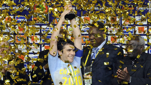 Hassan captained Egypt to glory in the African Cup of Nations in 2010, his fourth title and the Pharaohs' seventh overall. The team's form has since plummeted, failing to qualify for the tournament in 2012, with Hassan blaming &quot;over-confidence.&quot;