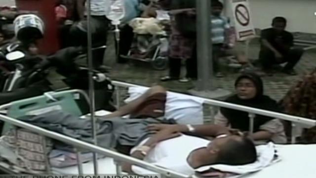 Los dos sismos de Indonesia dejaron cinco muertos