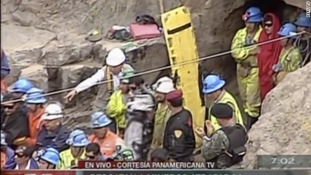 Nine Peruvian miners rescued after being trapped for days