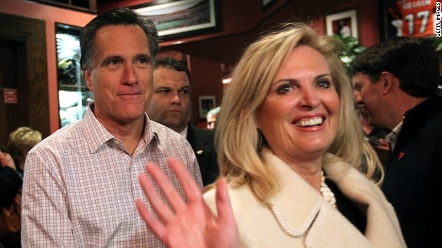 Engage: At center of battle for women&#039;s votes: Ann Romney