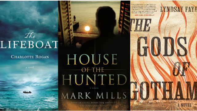 Three fictional releases this spring take a thrilling look at historical stories.