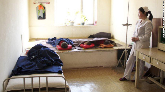 This photo inside a North Korean orphanage was taken in 2012 by a representative of the relief group Mercy Corps.