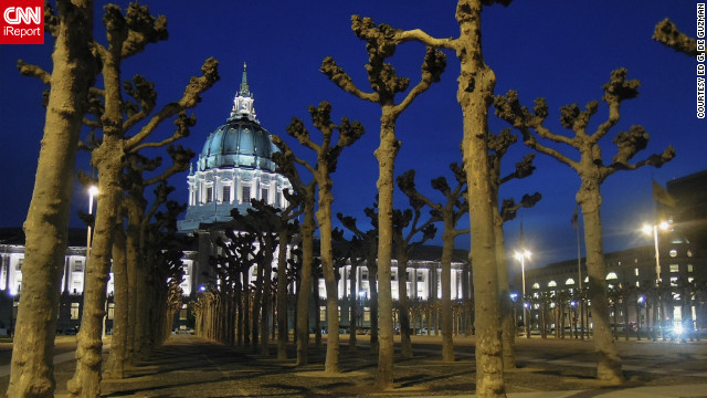 Ed G. De Guzman showcased the evening gradeur of San Francisco's City Hall in his photo.