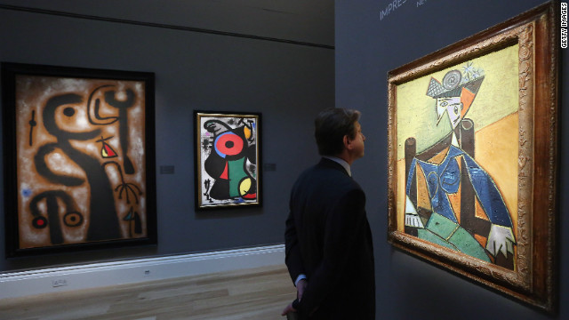 "Among the other high-profile works to go under the hammer in Sotheby's Impressionist and Modern Art sale is Pablo Picasso's portrait of Dora Maar, ""Femme assise dans un fauteuil,"" which is expected to sell for between $20 and $30 million."