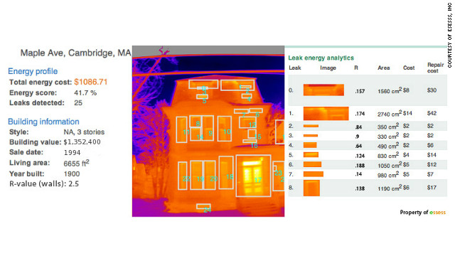 essess provide energy assessment reports which detail hotspots and how much money and energy is being wasted.