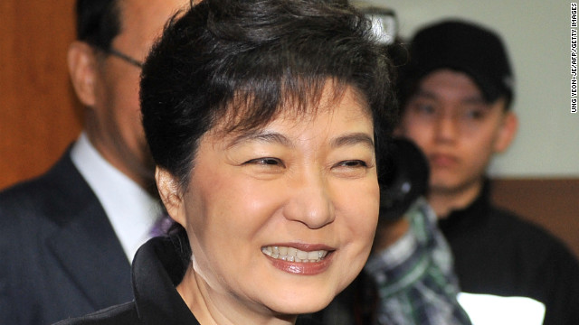 Park to be South Korea&#039;s first woman president