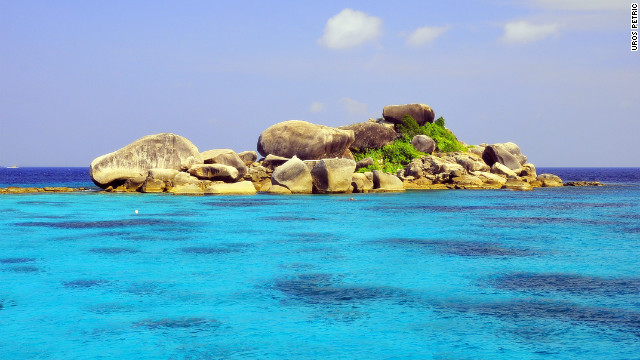 The Similan Islands, as captured here by photographer Uros Petric, are a group of archipelagos in the Andaman Sea classified as a marine nature reserve by the Thai government.