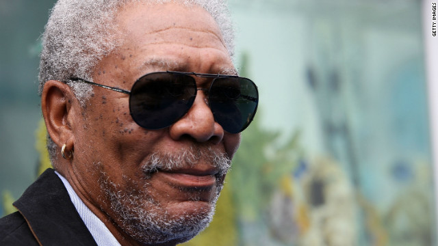 Morgan Freeman: No, I'm not marrying my step-granddaughter