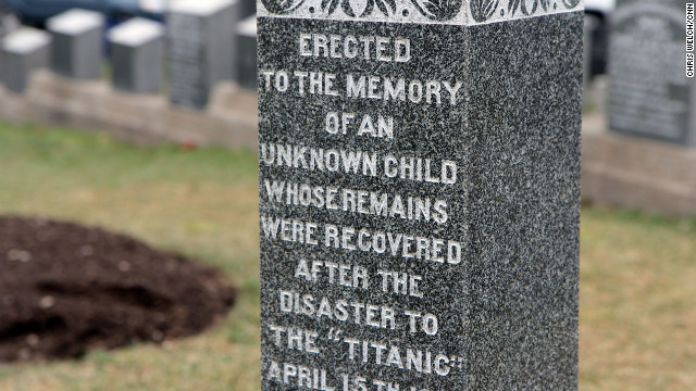 The Azamara stopped in Halifax, Nova Scotia, to visit the final resting place of some of Titanic's victims. About 120 passengers are buried at Fairview Lawn Cemetery.