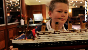 Patrick Druckenmiller\'s grandmother bought him a replica of the Titanic during the ship\'s stop in Halifax, Nova Scotia.