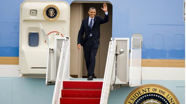 Obama llega a a Colombia para participar en la cumbre