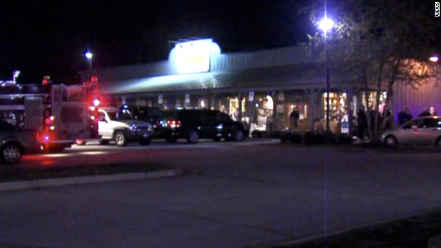 Three people are dead after a shooting at the Cracker Barrel restaurant in Brooklyn, Ohio, on Thursday.