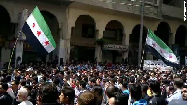 Ola de protestas en Siria en medio de un frágil cese al fuego