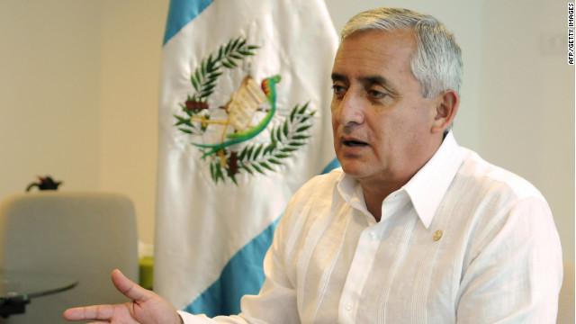 Otto Pérez Molina: La sociedad logrará que los dirigentes regulen las drogas