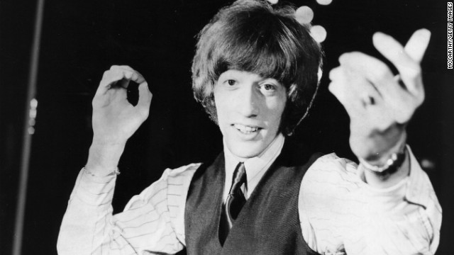 Robin Gibb, member of the Bee Gees, dies after battle with cancer