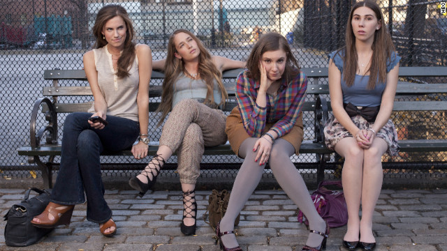 Who's watching 'Girls'? White guys over 50