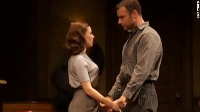 "Scarlett Johansson and Liev Schreiber starred in ""A View from the Bridge"" on Broadway in 2009. Johansson won a Tony Award for playing Catherine, while Schreiber was nominated for his performance."