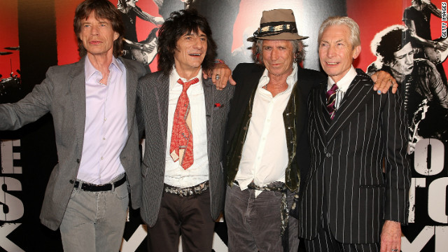Ronnie Wood on Rolling Stones studio time: Not exactly