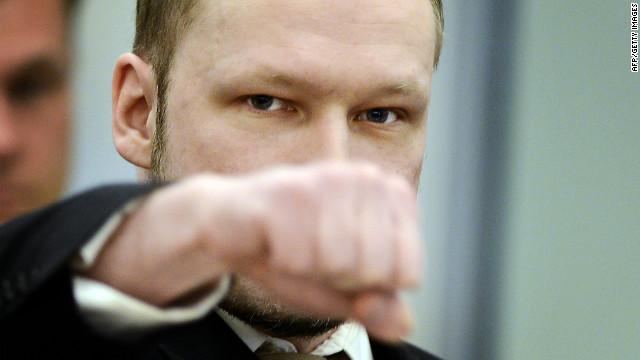 """Breivik dice que sus ataques en Noruega fueron """"en defensa propia"""""""
