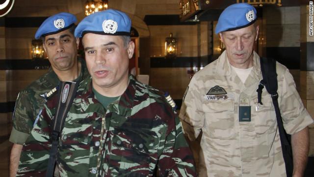 Observadores de la ONU llegan a Siria para supervisar el alto al fuego