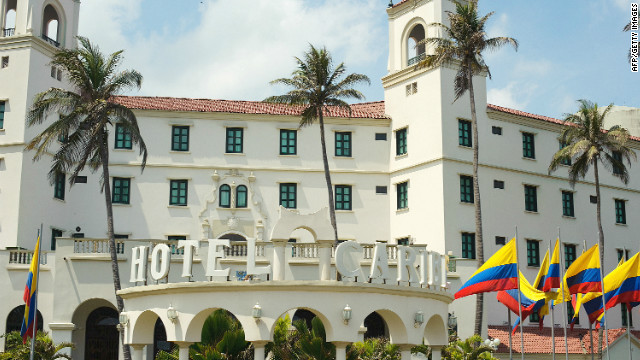 Members of the Secret Service and U.S. military allegedly partied with prostitutes at the Hotel Caribe in Cartagena, Colombia.