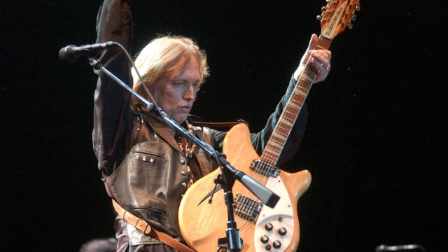 Tom Petty performs with a Rickenbacker guitar as part of the Austin City Limits Music Festival in 2006.