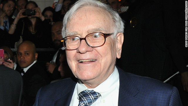 """Women should never forget that it is common for powerful and seemingly self-assured males to have more than a bit of the Wizard of Oz in them. Pull the curtain aside, and you'll often discover they are not supermen after all. (Just ask their wives!)"" wrote Warren Buffett in a <a href='http://money.cnn.com/2013/05/02/leadership/warren-buffett-women.pr.fortune/index.html' target='_blank'>Fortune op-ed in May</a>."